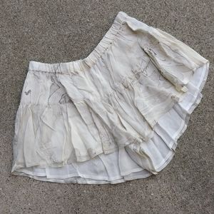 NICHOLAS K frilly mini shorts S (J9)